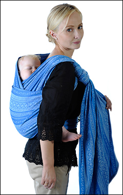 Намотка слинг-шарфа