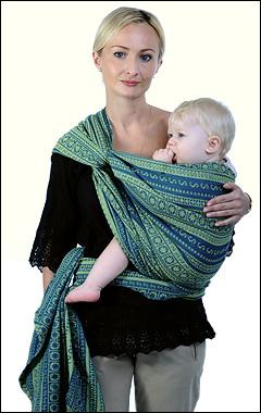 слинг-шарф инструкция крест на бедре робин Ellevill слинг для новорожденного