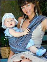 слинг-шарф слинг с кольцами слинг для новорожденного