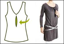 секрет кормления - одежда для кормящих