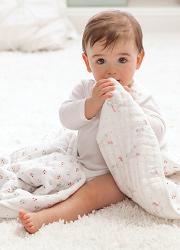 Одеяла и пледы для новорожденных
