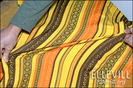 шарфовая ткань