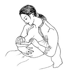 метод кенгуру слинг для новорожденного