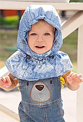 детский капюшон слингокуртки Diva Outerwear
