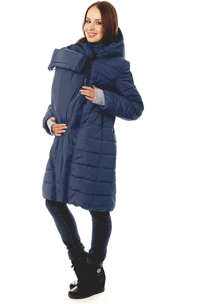 Слингокуртка зимняя Tepla 3в1, синий