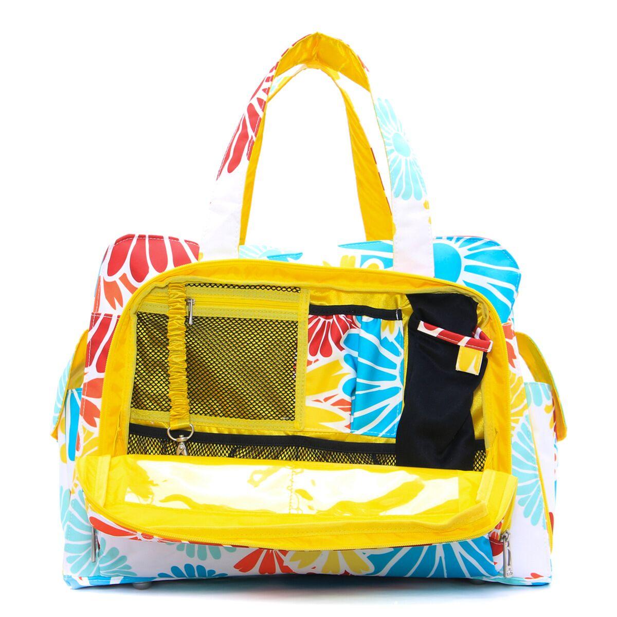 Дорожная сумка или сумка для двойни Ju-Ju-Be Be Prepared, Flower Power