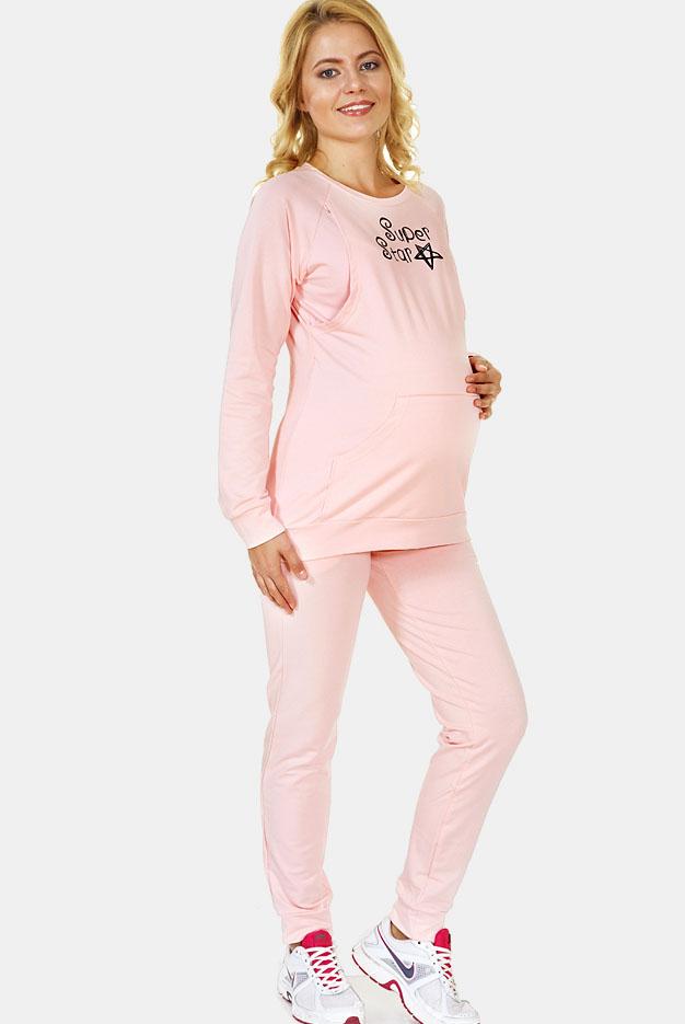 2697c9f00a70 Костюм для кормящих и беременных Super Star, цвет персик - купить ...