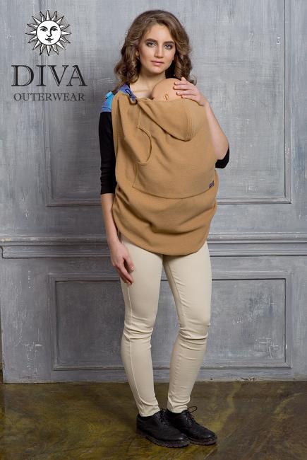 Слингонакидка из шерсти Diva Outerwear Cammello (верблюжий)