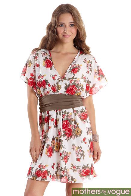 Платье для кормящих Mothers en Vogue Obi, магнолия - купить платья ... 4f1e5529823