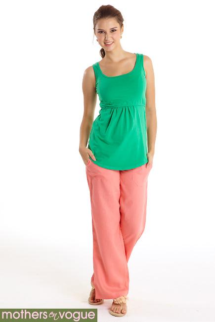 Брюки для беременных и родивших Mothers en Vogue Weekender Pants, розовый