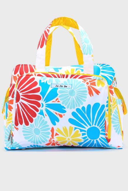 Дорожная сумка или сумка для двойни Ju-Ju-Be Be Prepared Flower power