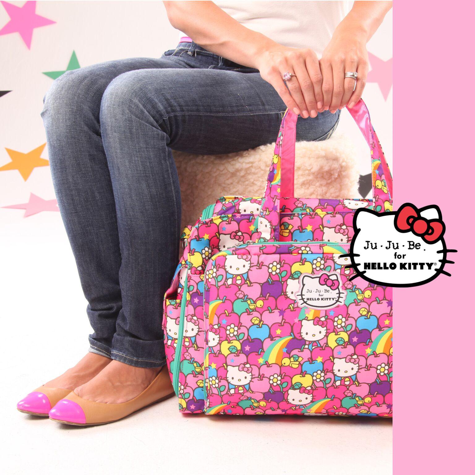 Дорожная сумка или сумка для двойни Ju-Ju-Be Be Prepared Hello kitty lucky stars