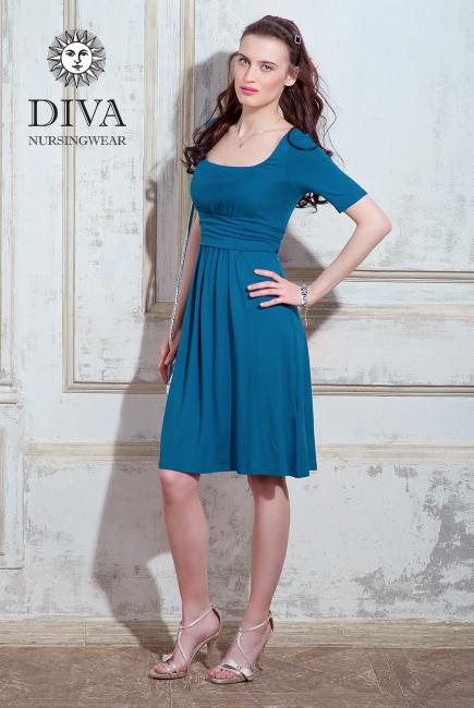 Платье для кормящих и беременных Diva Nursingwear Stella, Notte
