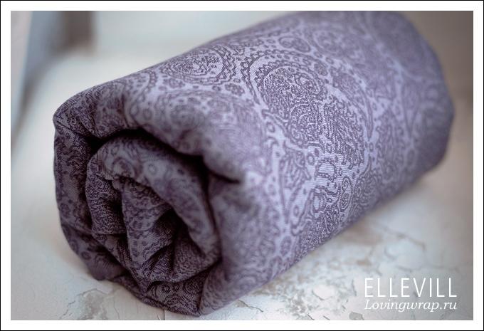 Слинг с кольцами Ellevill Paisley Linen Liberty