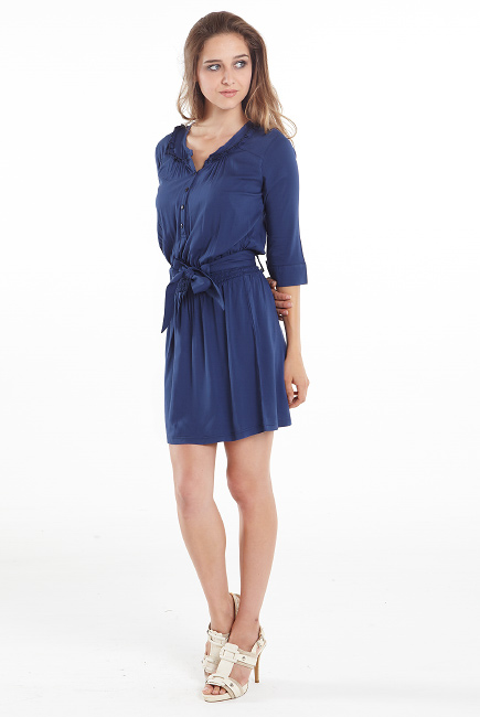 """Платье-туника для кормящих """"Weekend Shirtdress"""", Navy"""