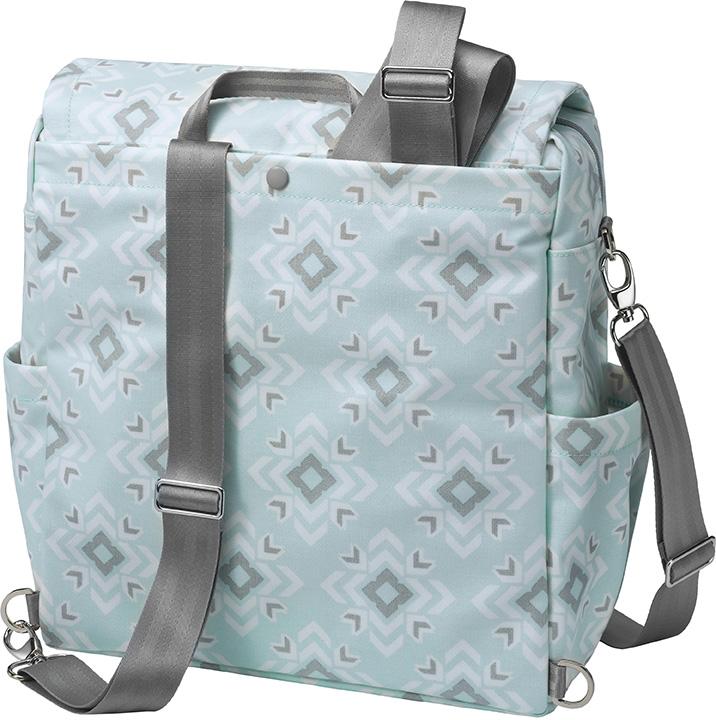 Сумка для мамы Petunia Boxy Backpack: Sleepy San Sebastian