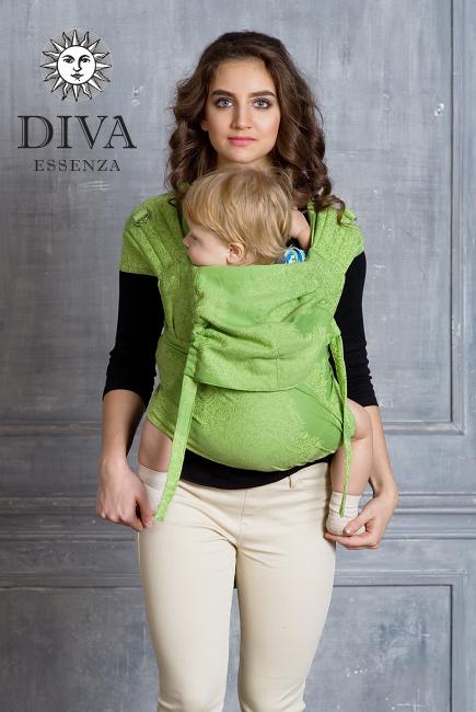 Май-слинг Diva Essenza Erba, размер Toddler