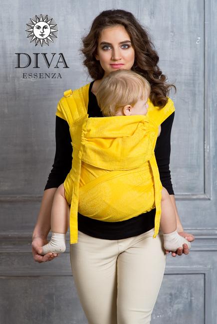 Май-слинг Diva Essenza Limone, размер Toddler