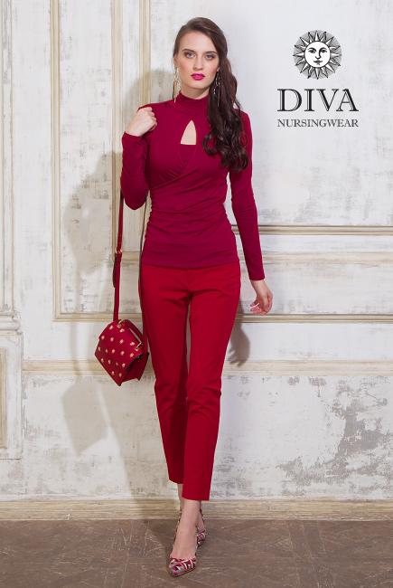 Топ для кормящих и беременных Diva Nursingwear Maura, Berry