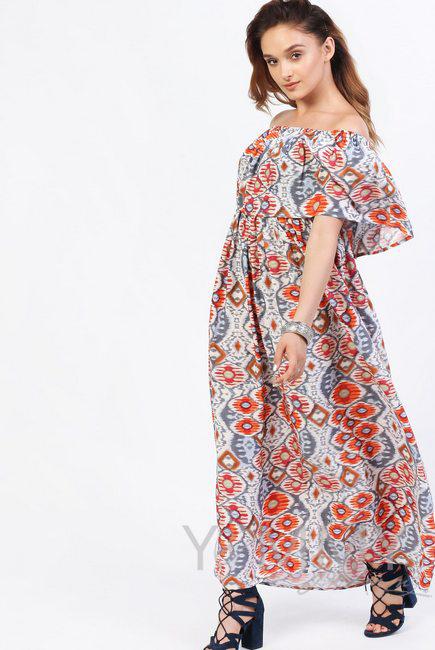 437c2b8bb43 Платье-сарафан для беременных и кормящих
