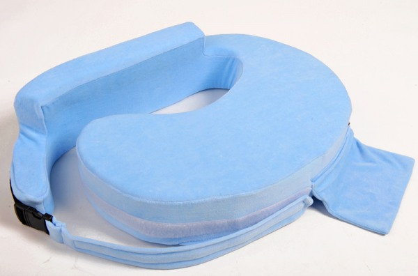 Подушка для кормления «Milk Rivers Support» голубая