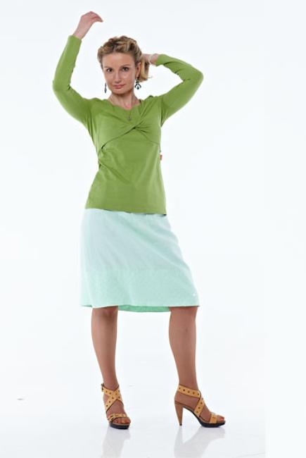 """Блуза для кормящих """"Травяная"""""""