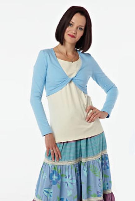 "Блуза для кормящих ""Незабудка"""