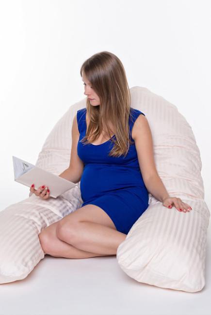 "Подушка для беременных ""U"", длина L (400см)"