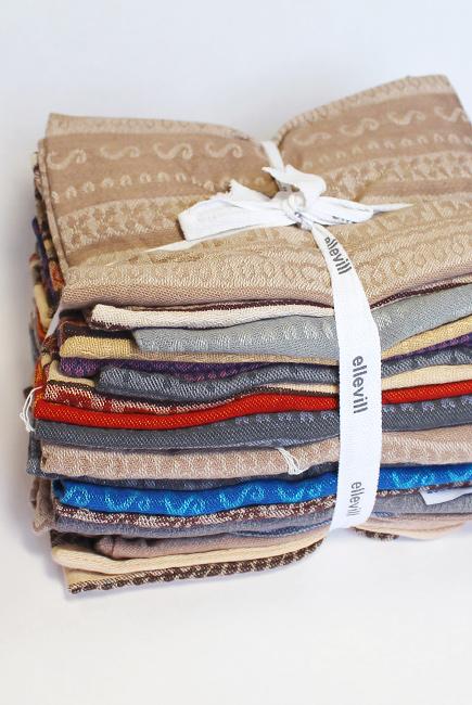 Конверты-сумочки Ellevill на кнопках, 1кг: 32x24см