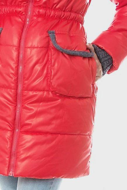 Зимняя слингокуртка Gerda 3в1, коралл