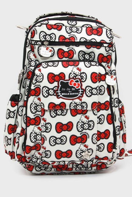 Рюкзак для мамы Ju-Ju-Be - Be Right Back, Hello Kitty Peek a Bow