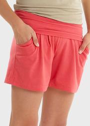 Шорты для беременных и родивших Mothers en Vogue Jersey Knit, цвет красный