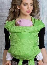 Май-слинг для новорожденного