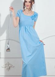 Платье для кормящих длинное