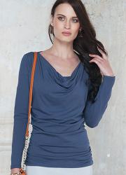 Топ для кормящих и беременных Diva Nursingwear Bella, цвет Notte