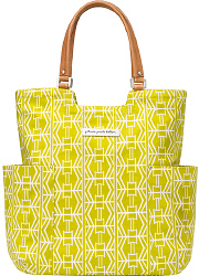 Сумка для мамы Petunia Tailored Tote: Electric Citrus