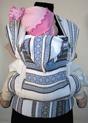 Слинг-рюкзак Karaush, Ellevill Zara Tricolor Blue