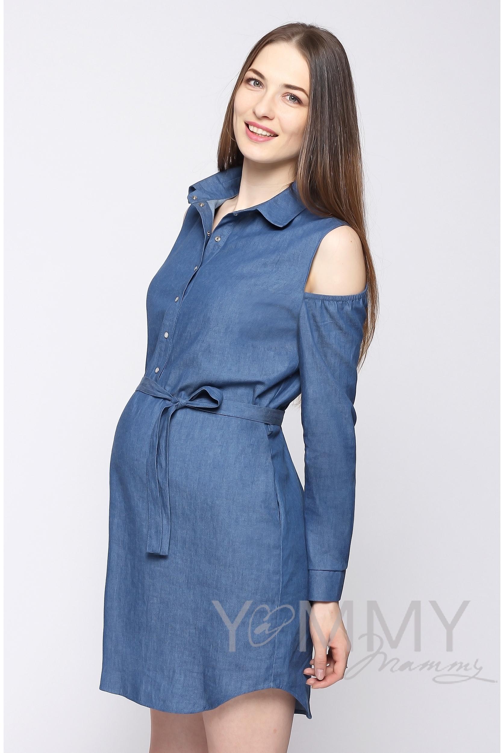 Платье Джинсовое Для Беременных Купить
