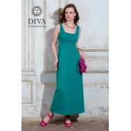 Сарафан для кормящих и беременных Diva Nursingwear Alba Maxi, Smeraldo