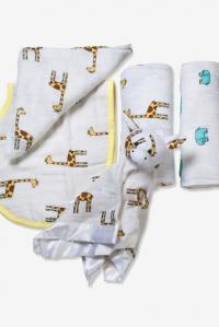Подарочный набор для новорожденных Aden&Anais Jungle Jam