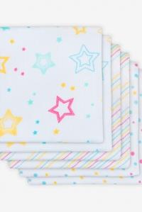 Муслиновые пеленки для новорожденных Jollein средние, Star dust, Звездная пыль