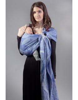Слинг с кольцами Diva Essenza, Azzurro Linen