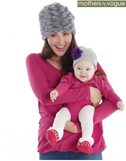 Боди Mothers en Vogue Briney Bubble серый