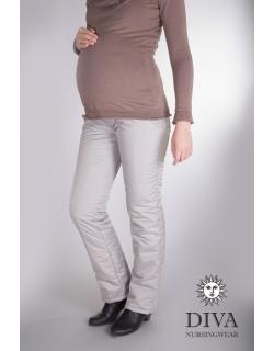 Брюки утепленные для беременных Diva , цвет Nebbia