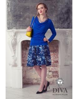 Топ для кормящих и беременных Diva Nursingwear Bella, цвет Azzurro