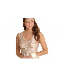 """Платье Mothers en Vogue """"Wrap Dress"""" без рукавов, принт """"Sophora"""""""