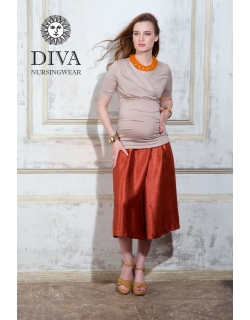 Топ для кормящих и беременных Diva Nursingwear Lucia, цвет Grano