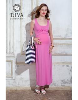 Сарафан для кормящих и беременных Diva Nursingwear Alba Maxi, Rose