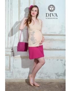 Топ для кормления Diva Nursingwear Eva Print, цвет Grano