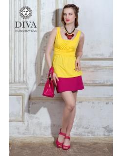 Топ для кормящих и беременных Diva Nursingwear Alba, цвет Limone
